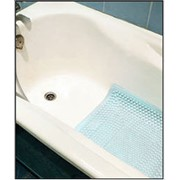 Резиновый коврик безопасности для ванны с присосками Размер: фото