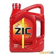 Трансмиссионное масло ZIC ATF II 4л фото