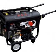 PGB6500-C1/380 Black P.I.T. генератор бензиновый на тележке, 5000 W фото