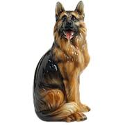 Скульптура Немецкая овчарка/ Собака арт.CB-429 Boxer фото