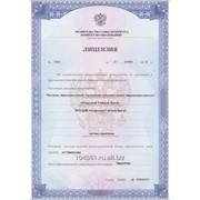 Лицензия на образовательную деятельность фото