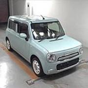 Хэтчбек 2 поколение SUZUKI ALTO LAPIN CHOCOLATE кузов HE22S гв 2013 4WD пробег 27 тыс км цвет светло синий фото