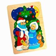 Мозайка «Новогодняя» 36 деталей фото