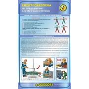 Стенды по охране труда и безопасности Действия при поражении электрическим током фото