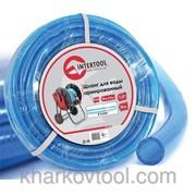 Шланг для воды 3-х слойный 1/2, 30м, армированный PVC Intertool GE-4055 фото