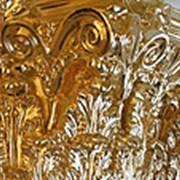 Покрытие сусальным золотом фото