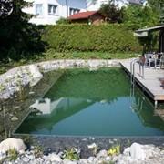 """Частная фирма """"Ландшафтная студия воды"""" спроектирует на Вашем участке и изготовит всевозможные плавательные озера и водоемы. фото"""