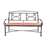 Кованый диван Болонья фото