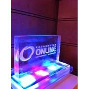 Скульптуры из льда подсвеченные заказать фото