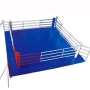 Комплект канатов для ринга боксерского с боевой зоной 7х7 (16 канатов) фото
