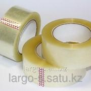 Клейкая лента прозрачная упаковочная 45мм * 150м фото