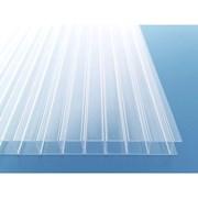 Сотовый поликарбонат от 4 до 10мм прозрачный, фото