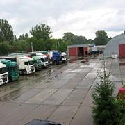 Стоянка грузового автомобиля фото