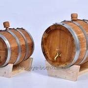 """Бочка дубовая """"Премиум"""" для вина, коньяка, 45л фото"""