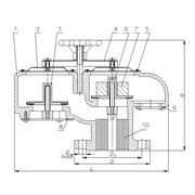 Клапан дыхательный СМДК-150 фото