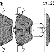 Тормозная колодка Icer 181259 фото