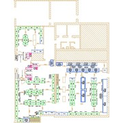 Подготовка дизайн-проектов магазинов и супермаркетов. фото