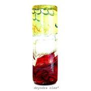 Вазы подарочные из стекла, вазы ручной работы фото