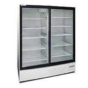 Холодильный шкаф со стеклянными дверцами DUET 1400G фото