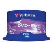 Диск DVD+R Verbatim 4.7Gb 16X CakeBox 50 шт (43550) фото
