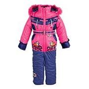Зимний костюм для девочки №0772-111-1 86 фото