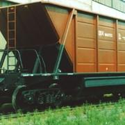 Универсальный вагон-хоппер для сыпучих грузов модель 25-4086, Полувагоны грузовые, Универсальный вагон-хоппер фото
