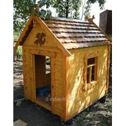 Домик из дерева для детей (180см) фото