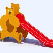 Детская горка модель Т20 Медведь фото