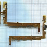 Разъем Micro USB для LG Optimus L7 P705 на шлейфе с микрофоном и кнопкой HOME фото