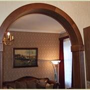 Установка арок в арочные проемы фото