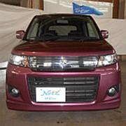 Хэтчбек 4 поколение SUZUKI WAGON R кузов MH34S гв 2009 пробег 99 тыс км цвет винный фото