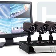 Установка видеонаблюдения фото