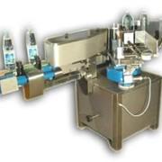 Этикетировочный автомат на бумажную этикетку фото