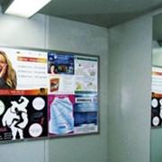 Размещение рекламы в подъездах и в лифтах фото
