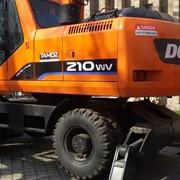 Экскаватор Doosan S210WV на колесном ходу фото