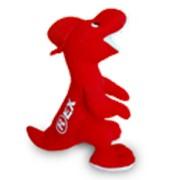 Корпоративная игрушка Красный дракон фото