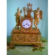 Каминные часы фото