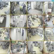 Монтаж видеокамер в помещении фото