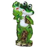 Фигура Лягушка с лягушонком фото