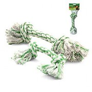 Игрушка для собак, веревка с ментолом, 2 узла, 200мм DT-27 фото