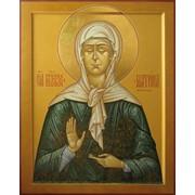 Икона Блаженной Матроны Московской. фото