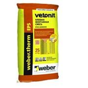 Клей для пенополистирола Weber.therm EPS, 25 кг фото