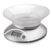 Весы электронные кухонные Maxwell MW-1451(SR), с чашей фото