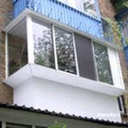 Обшивка и утепление балконов фото