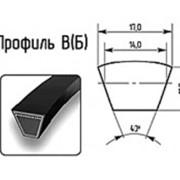 Ремень профиль В(Б) 17х11мм. фото