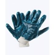 Перчатки нитриловые (аналог Hycron) манжет резинка фото