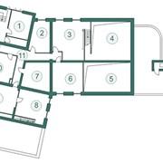 Аренда помещений план шестого этажа фото