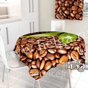 Кофейные зерна арт.ТФС2841 v2 (145х145) фотоскатерть фото