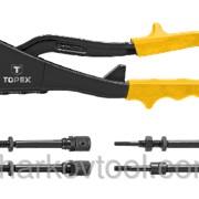 Заклепочник для установки резьбовых заклепок M3, M4, M5, M6 TOPEX 43E110 фото