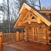 Строим дома из сруба и оцилиндрованного бревна в Киев, Украина фото